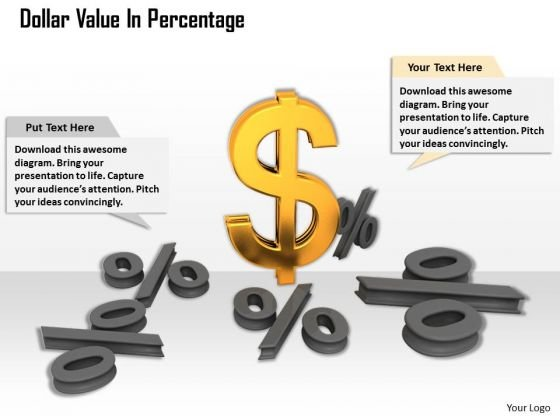 Business Management Strategy Dollar Value Percentage Clipart Images
