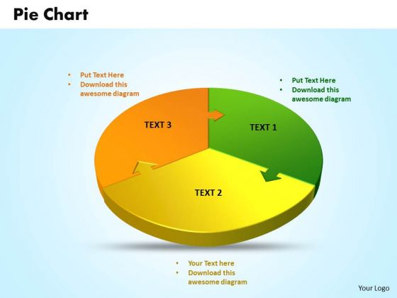 Business Marketing PowerPoint Templates Business 3d Jigsaw Circular Pie Chart Ppt Slides