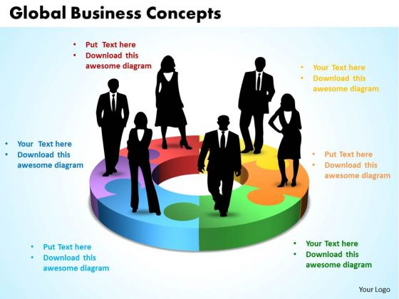 Business Marketing PowerPoint Templates Business Global Business Concepts Ppt Slides