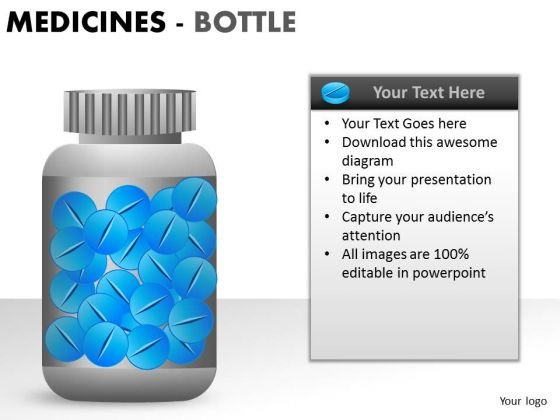 Business Medical Bottle PowerPoint Slides And Ppt Diagram Templates