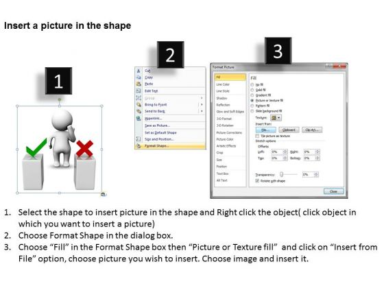business_model_diagram_examples_3d_man_thinking_behind_two_podiums_powerpoint_templates_2