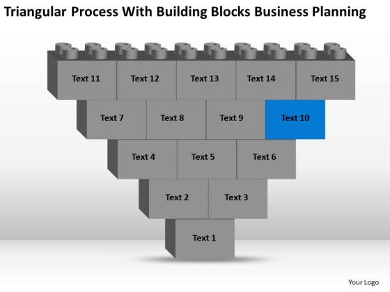 Business Model Diagram Examples With Building Blocks Planning PowerPoint Templates
