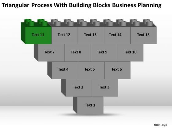 Business Model Diagram Examples With Building Blocks Planning Ppt PowerPoint Template