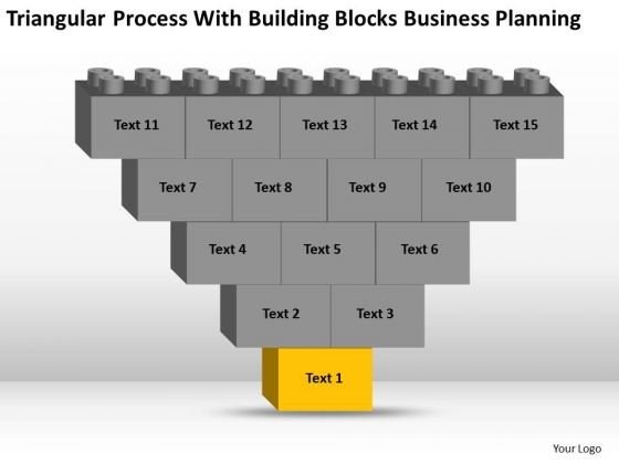 Business Model Diagram Examples With Building Blocks Planning Ppt PowerPoint Templates