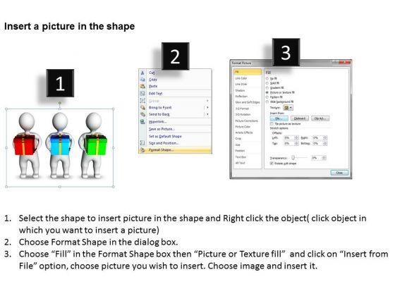 business_model_diagrams_3d_men_holding_gift_box_powerpoint_slides_2