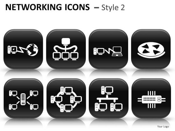 Business Networking Icons 2 Instrument PowerPoint Slides And Ppt Diagram Templates