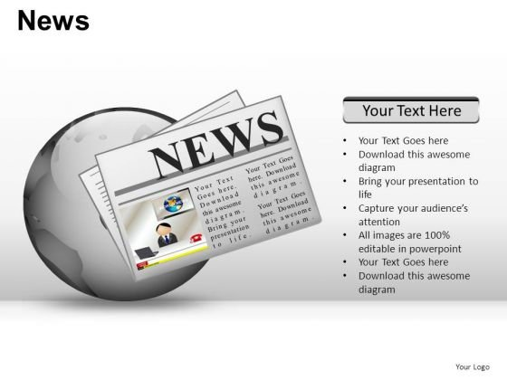 Business News PowerPoint Slides And Ppt Diagram Templates