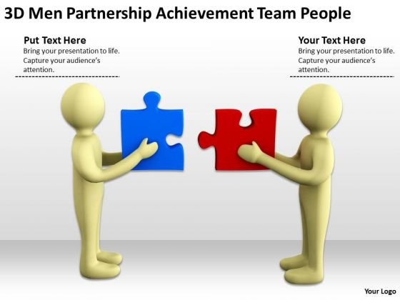 Business People Clip Art Achievement Team PowerPoint Templates Ppt Backgrounds For Slides