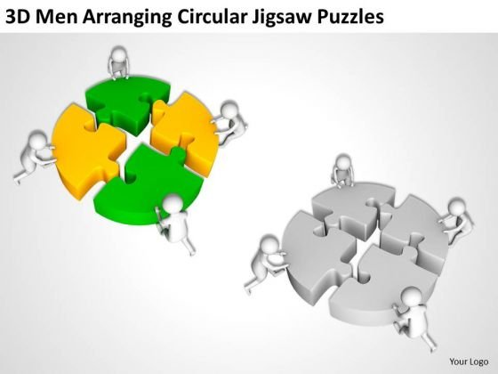 business_people_clip_art_circular_jigsaw_puzzles_powerpoint_templates_ppt_backgrounds_for_slides_2