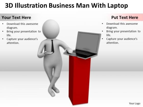 Business People Clip Art New PowerPoint Presentation Man With Laptop Slides