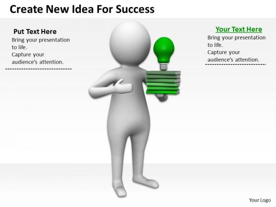 Business People Create New Idea For Success PowerPoint Slides