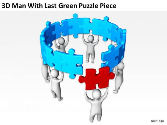 business_people_images_3d_man_with_last_green_puzzle_piece_powerpoint_slides_2