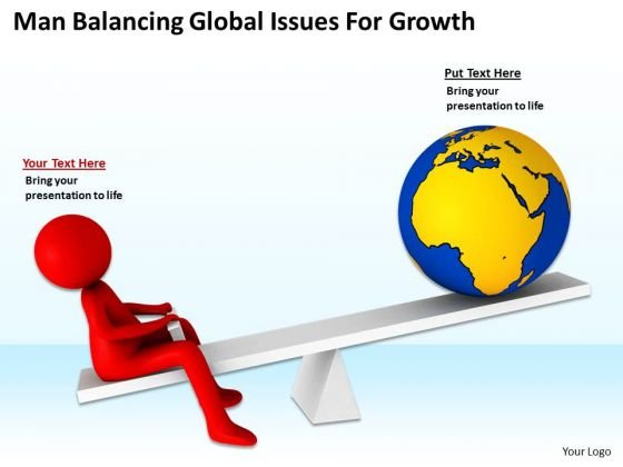 Business People Pictures Global Issues For Growth PowerPoint Templates Ppt Backgrounds Slides
