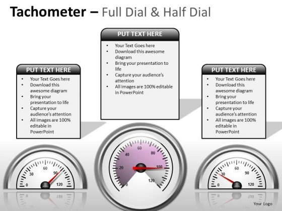 Business People Tachometer Full Dial PowerPoint Slides And Ppt Diagram Templates