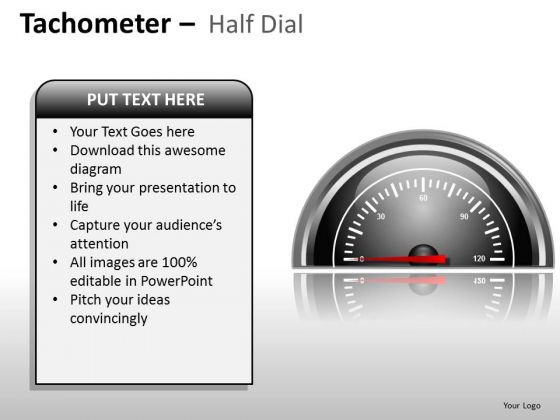 Business People Tachometer Half Dial PowerPoint Slides And Ppt Diagram Templates
