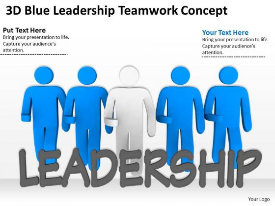 Business People Vector Leadership Teamwork Concept PowerPoint Templates Ppt Backgrounds For Slides