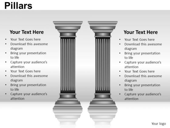 Business Pillars PowerPoint Slides And Ppt Diagram Templates