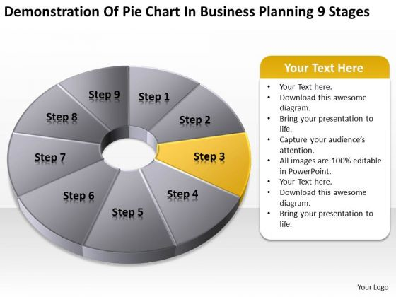 Business Planning 9 Stages Ppt Downloadable Template PowerPoint Slides