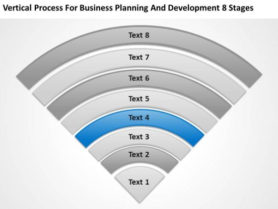 Business Planning And Development 8 Stages Bar Sample PowerPoint Slides