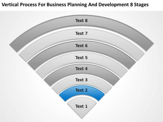 Business Planning And Development 8 Stages Online Plans PowerPoint Slides
