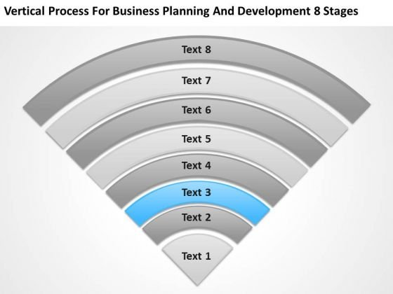 Business Planning And Development 8 Stages Professional PowerPoint Templates