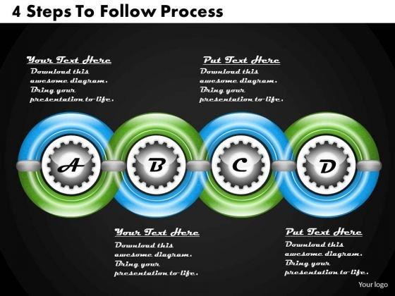 Business Planning Strategy 4 Steps To Follow Process Change Management Ppt Slide