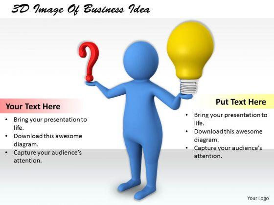 Business Policy And Strategy 3d Image Of Idea Concept Statement