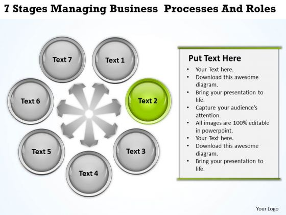 Business Power Point Processes And Roles Ppt PowerPoint Templates Backgrounds For Slides