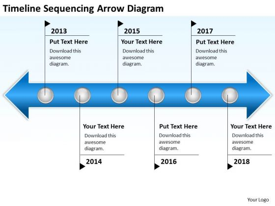 Business Power Point Timeline Sequencing Arrow Diagram Ppt PowerPoint Slides