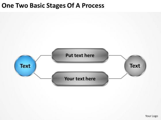 Business Power Point Two Basic Stages Of Process Ppt PowerPoint Slides