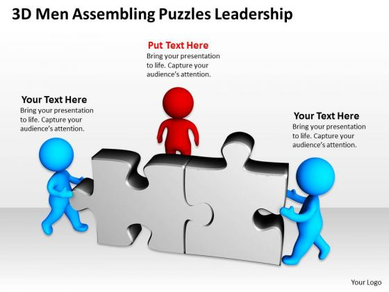 Business PowerPoint Examples Puzzles Leadership Templates Ppt Backgrounds For Slides