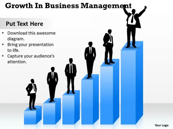 Business PowerPoint Template Growth Management Ppt Templates