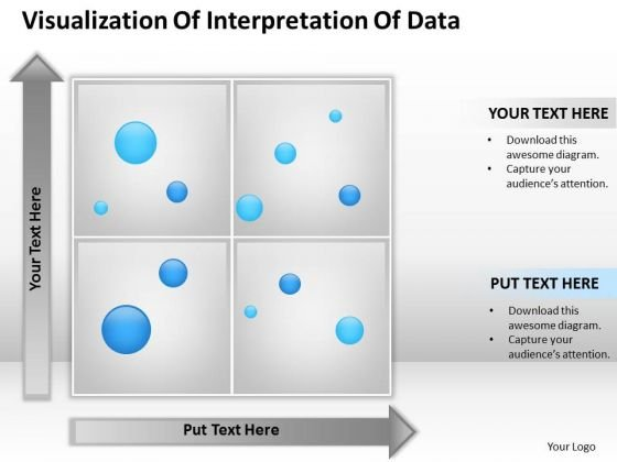 Business PowerPoint Template Visualization Of Interpretation Data Ppt Slides