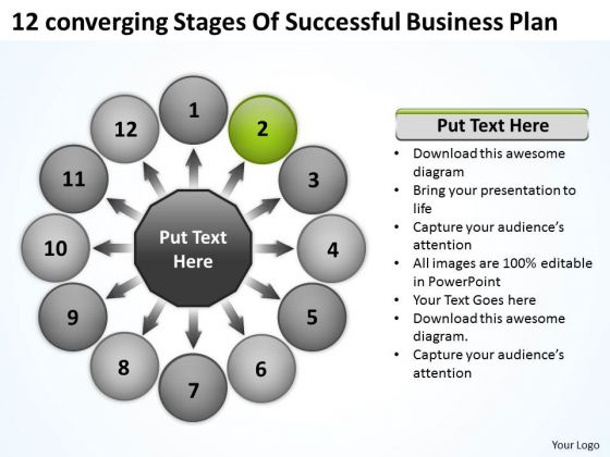 Business PowerPoint Templates Download Plan Circular Flow Process