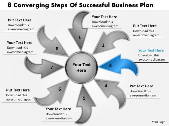 Business PowerPoint Templates Download Plan Cycle Process Network Slides
