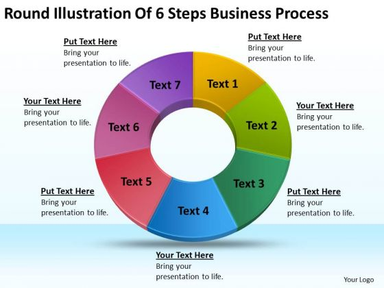 Business PowerPoint Templates Download Process Plan Outline Slides