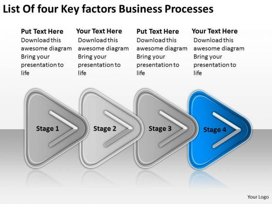 Business PowerPoint Templates Download Processes Spa Plan