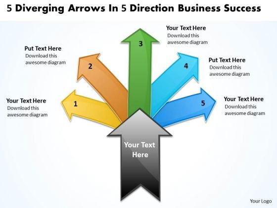 Business PowerPoint Templates Download Success Cycle Flow Process