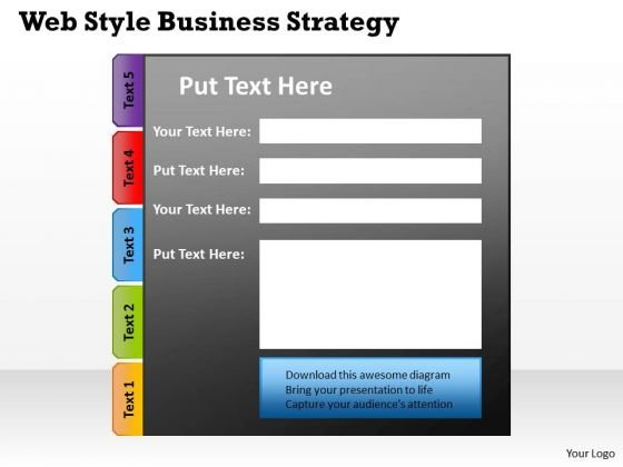 Business PowerPoint Templates Free Download Strategy Circular Diagram Ppt