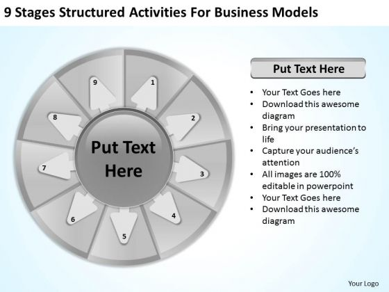 Business PowerPoint Templates Models Strategic Plan Slides