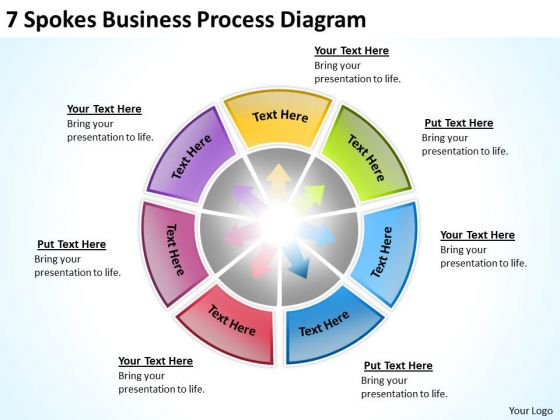 Business PowerPoint Templates Process Diagram Plan Contents