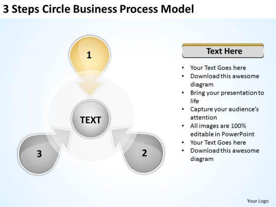 Business PowerPoint Templates Process Model Franchise Plan Slides