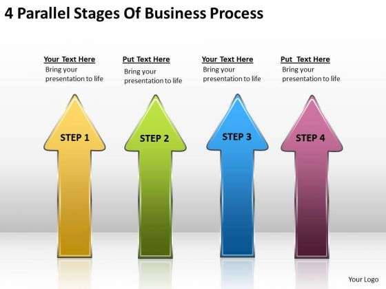 Business PowerPoint Templates Process Plans Examples Slides