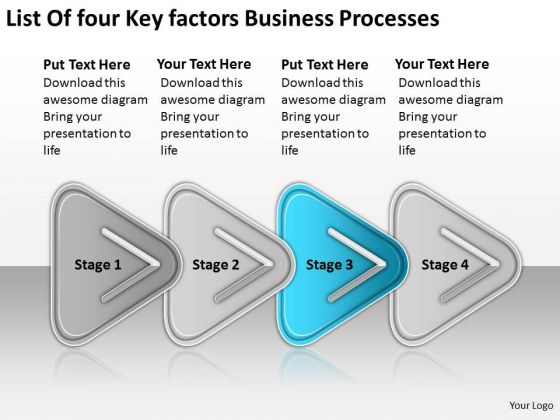 Business PowerPoint Templates Processes Planning Consultants