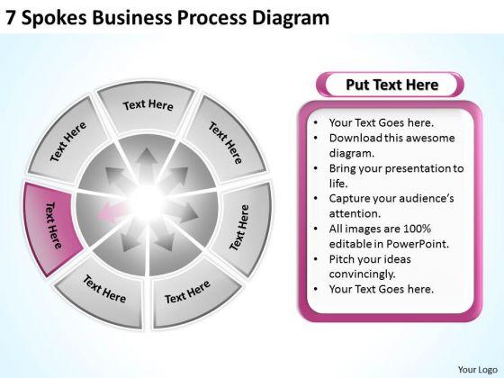 Business PowerPoint Theme Process Diagram Plan Templates