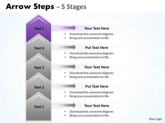 steps template