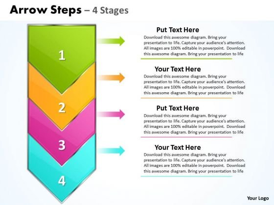 Business Ppt Vertical Practice The PowerPoint Macro Steps Demonstration 1 Graphic