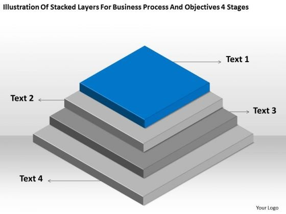 Business Process And Objectives 4 Stages Ppt Planning Consultants PowerPoint Slides