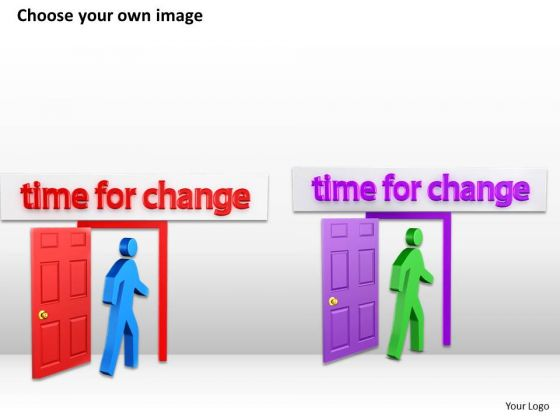 business_process_diagram_example_3d_man_with_time_for_change_powerpoint_slides_2
