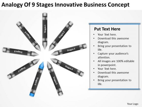 Business Process Diagram Example Concept PowerPoint Templates Backgrounds For Slides